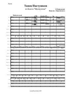 Nr.7 Tanz der Mirlitons: Partitur by Pjotr Tschaikowski