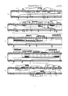 Kincob No.z-2 for piano, MVWV 1125: Kincob No.z-2 for piano by Maurice Verheul