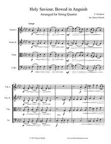 Holy Saviour Bowed in Anguish: Arranged for string quartet by Franz Schubert