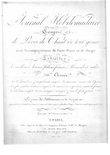 Le Montagnard Émigré for Voice and Piano (or Harp): Le Montagnard Émigré for Voice and Piano (or Harp) by Alexandre-Étienne Choron