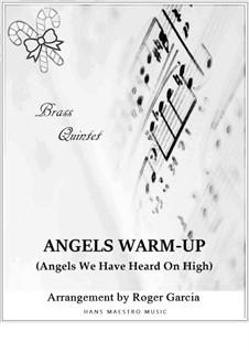 Angels We Have Heard on High: Für Blechblasquintett by folklore