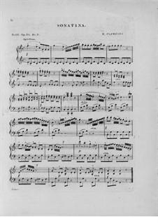 Sonatine Nr.3: Für Klavier by Muzio Clementi