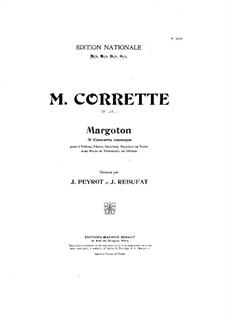 Konzert für drei Violinen, Cello und Klavier No.3 'Margoton': Violinstimme II by Michel Corrette