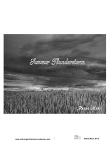 Summer Thunderstorm, Op.5: Summer Thunderstorm by Andfrullato