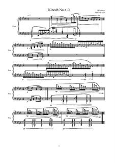 Kincob No.z-3 for piano, MVWV 1026: Kincob No.z-3 for piano, MVWV 1026 by Maurice Verheul