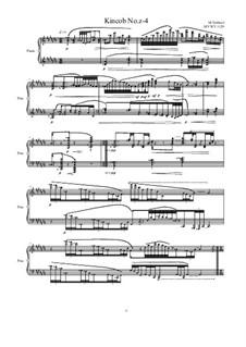Kincob No.z-4 for piano, MVWV 1029: Kincob No.z-4 for piano, MVWV 1029 by Maurice Verheul