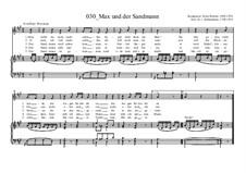 Max und der Sandmann: Max und der Sandmann by Ernst Richter