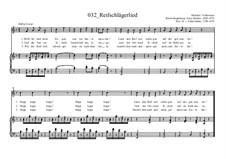 Reifschlägerlied: Reifschlägerlied by Ernst Richter