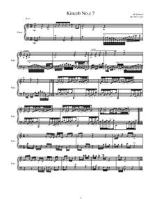 Kincob No.z7 for piano, MVWV 1123: Kincob No.z7 for piano by Maurice Verheul