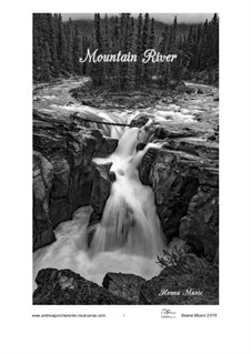 Mountain River, Op.9: Mountain River by Andfrullato