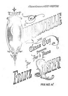 Tarantella, Op.12: Für Klavier by César Cui