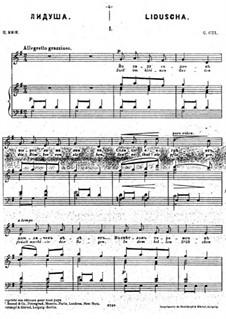 Dreizehn musikalische Bilder, Op.15: No.1 Liduscha by César Cui