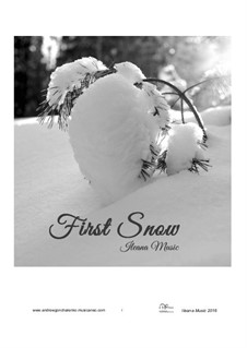 First Snow, Op.21: First Snow by Andfrullato