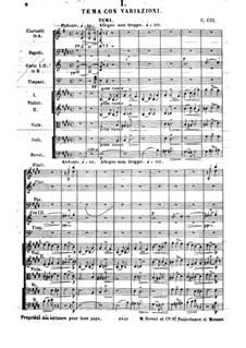 Suite Nr.2, Op.38: Teil I by César Cui