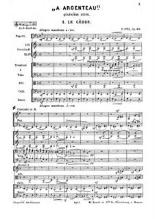 Suite Nr.4, Op.40: Movement I. Le cèdre by César Cui