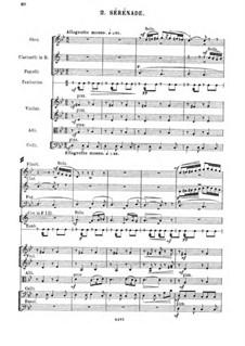 Suite Nr.4, Op.40: Movement II. Sérénade by César Cui