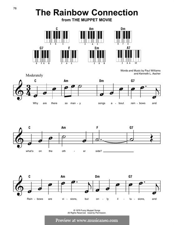 The Rainbow Connection (Kermit the Frog): For any instrument by Paul H. Williams, Kenneth L. Ascher
