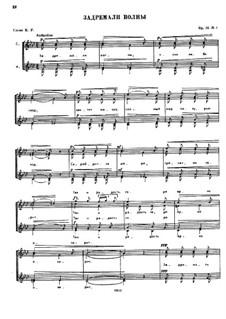Five Choirs. Choir No.1, Op.46: Five Choirs. Choir No.1 by César Cui