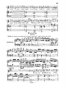 Die diebische Elster: Di piacer mi balza il cor. Cavatina for Soprano by Gioacchino Rossini