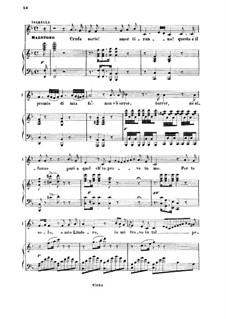 Die Italienerin in Algier: Cruda sorte! Amor tiranno. Cavatina for Mezzo by Gioacchino Rossini