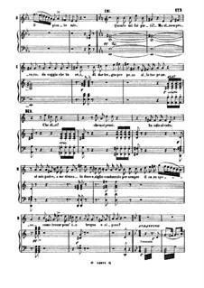 Otello: Nessun maggior dolore. Aria for Tenor by Gioacchino Rossini