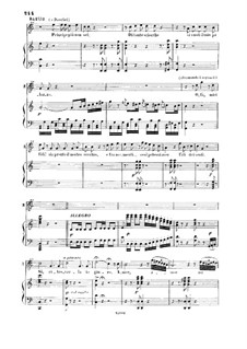 La Cenerentola: Si ritrovarla io giuro. Recitative and Aria for Tenor by Gioacchino Rossini