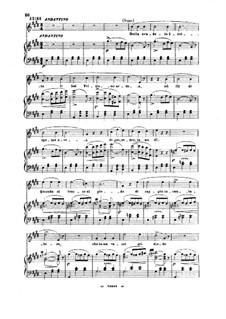 Der Liebestrank: Della crudele isotta. Cavatina for soprano by Gaetano Donizetti