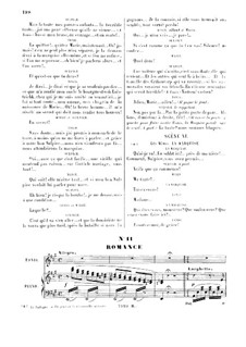 Die Regimentstochter: Pour me rapprocher de Marie. Romance for tenor by Gaetano Donizetti
