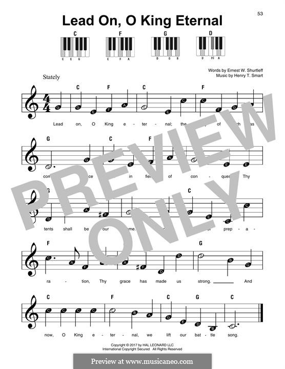 Lead on, o King Eternal: For any instrument by Henry Smart