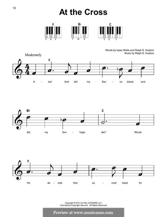 At the Cross: For any instrument by Ralph E. Hudson