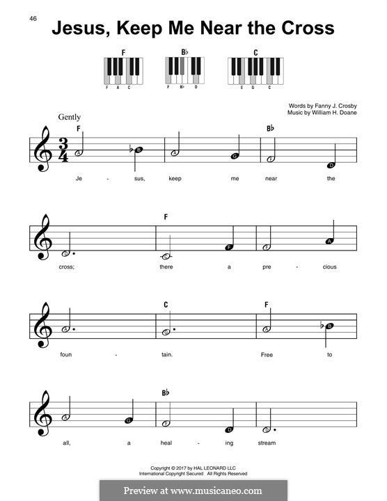 Jesus zieht zum Kreuze mich: For any instrument by William Howard Doane