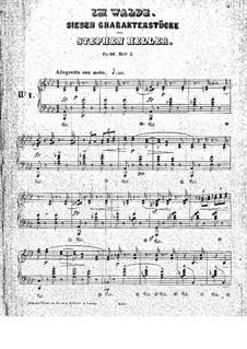 Dans les bois (Im Walde), Op.86: Klavierstücke Nr.1-2 by Stephen Heller
