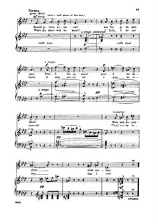 Habanera: For soprano or mezzo and piano (italian/english) by Georges Bizet