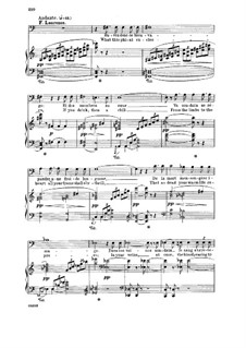 Romeo und Julia: Buvez donc ce breuvage. Aria for bass (french/english) by Charles Gounod