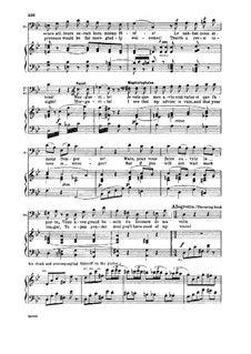 Faust: Vous qui faites l'endormie. Recitative and Serenade (french/english) by Charles Gounod