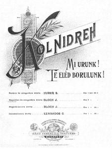 Kol Nidreh: Kol Nidreh by József Bloch