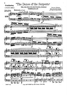 The Dance of the Serpents (Piano Conductor): The Dance of the Serpents (Piano Conductor) by Eduardo Boccalari