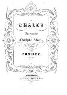 Le Chalet, Op.145: Le Chalet by Alexandre Croisez