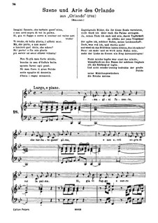 Orlando, HWV 31: Imagini funeste by Georg Friedrich Händel
