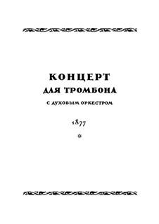 Konzert für Posaune und Orchester in B-Dur: Vollpartitur by Nikolai Rimsky-Korsakov