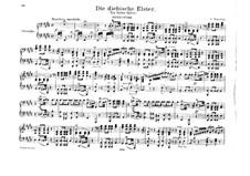 Die diebische Elster: Ouvertüre, für Klavier, vierhändig by Gioacchino Rossini