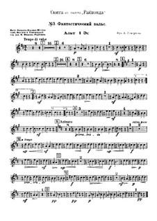 Raimonda, Op.57: Suite. Nr.3. Fantastischer Walzer – Stimmen by Alexander Glazunov