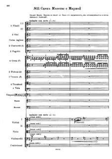 Mazepa, TH 7: Act II, No.11 Mazeppa's Scene with Maria by Pjotr Tschaikowski