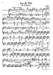 Duett Nr.8 in D-Dur: Duett Nr.8 in D-Dur by Adam Darr