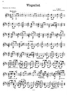 Wiegenlied: Für Gitarre by Adam Darr