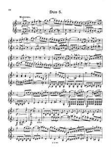 Zwölf kleine Duette für zwei Violinen, Op.38: Duet Nr.5 by Jacques Féréol Mazas