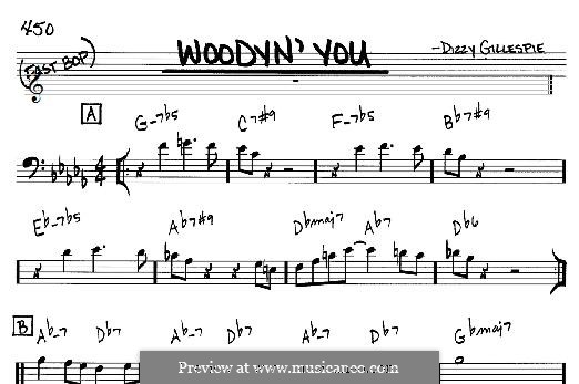 Woodyn' You: For any instrument by Dizzy Gillespie