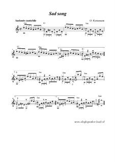 Sad Song, Op.8: Sad Song by Oleg Kopenkov