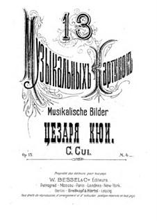 Dreizehn musikalische Bilder, Op.15: Nr.6 Christ auferstand by César Cui