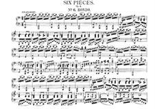 Sechs leichte Stücke für Klavier, vierhändig, J.9–14 Op.3: Nr.6 Rondo by Carl Maria von Weber